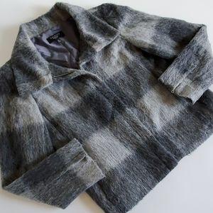 Talbots alpaca blend blazer size 6p